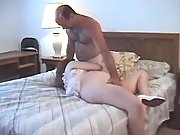 Pregnant girl sucks cock and licked