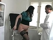 Doc licks and fucks pregnant chick